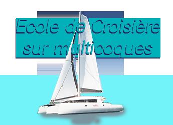 Ecole de croisière sur multicoques Grimaud VAR France